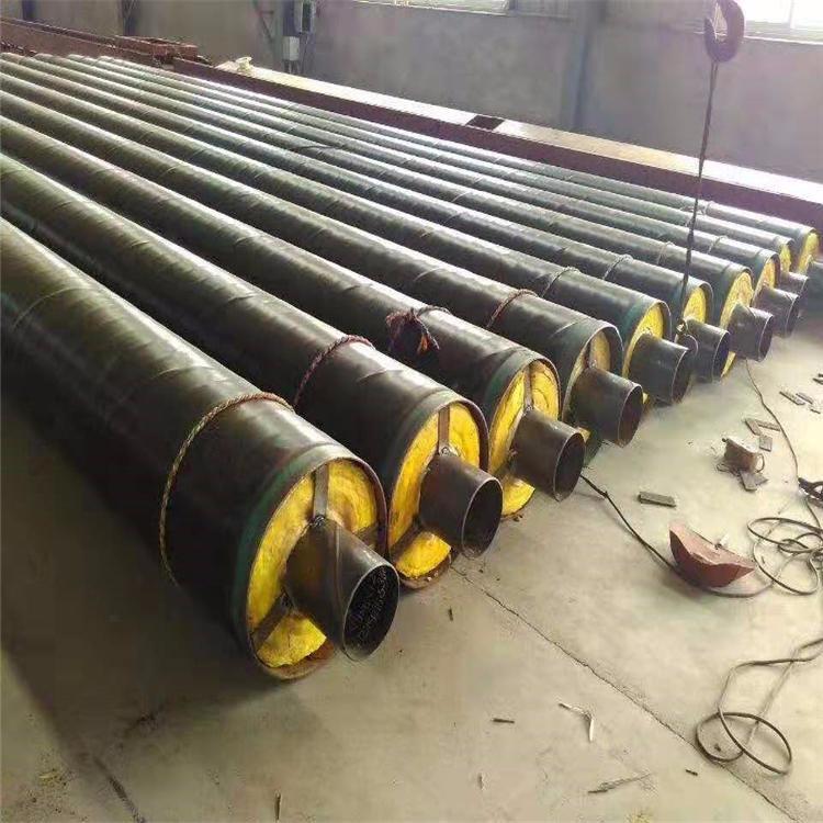 龙都管道 厂家 来图定做  预制直埋蒸汽保温管 耐高温钢套钢蒸汽保温管 直埋蒸汽保温管道 品质保证