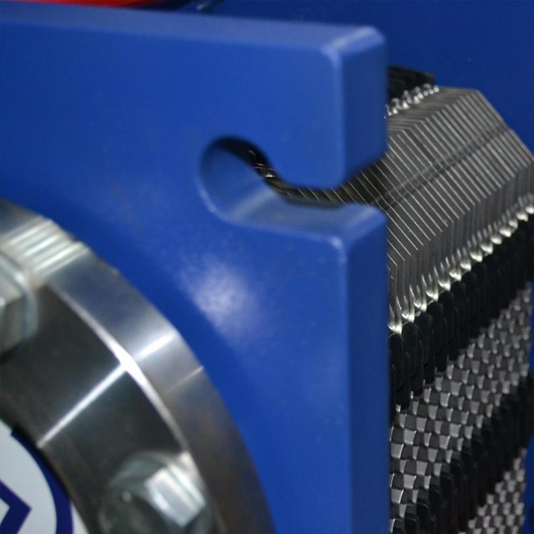 連云港赫普斯爐體、電極支座、變壓器的冷卻 板式換熱器