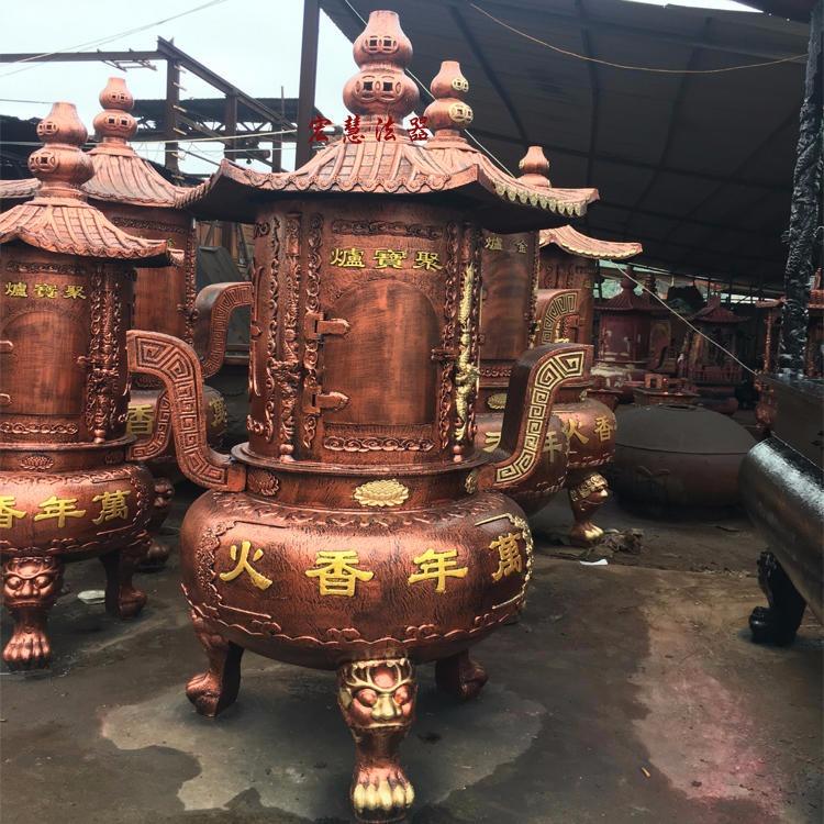 寺廟燒紙爐 祠堂焚經爐 風景區紙錢爐 戶外化錢爐 宏慧法器生產