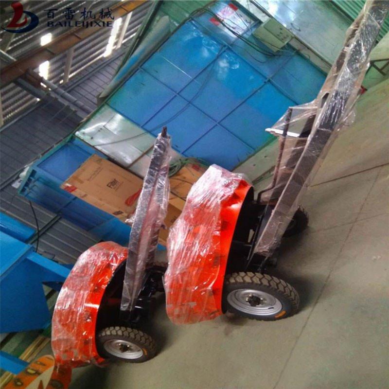 百雷 旋转道路清扫车 环卫折叠式扫路车 BLSLC-16 拖挂式风火轮扫路机