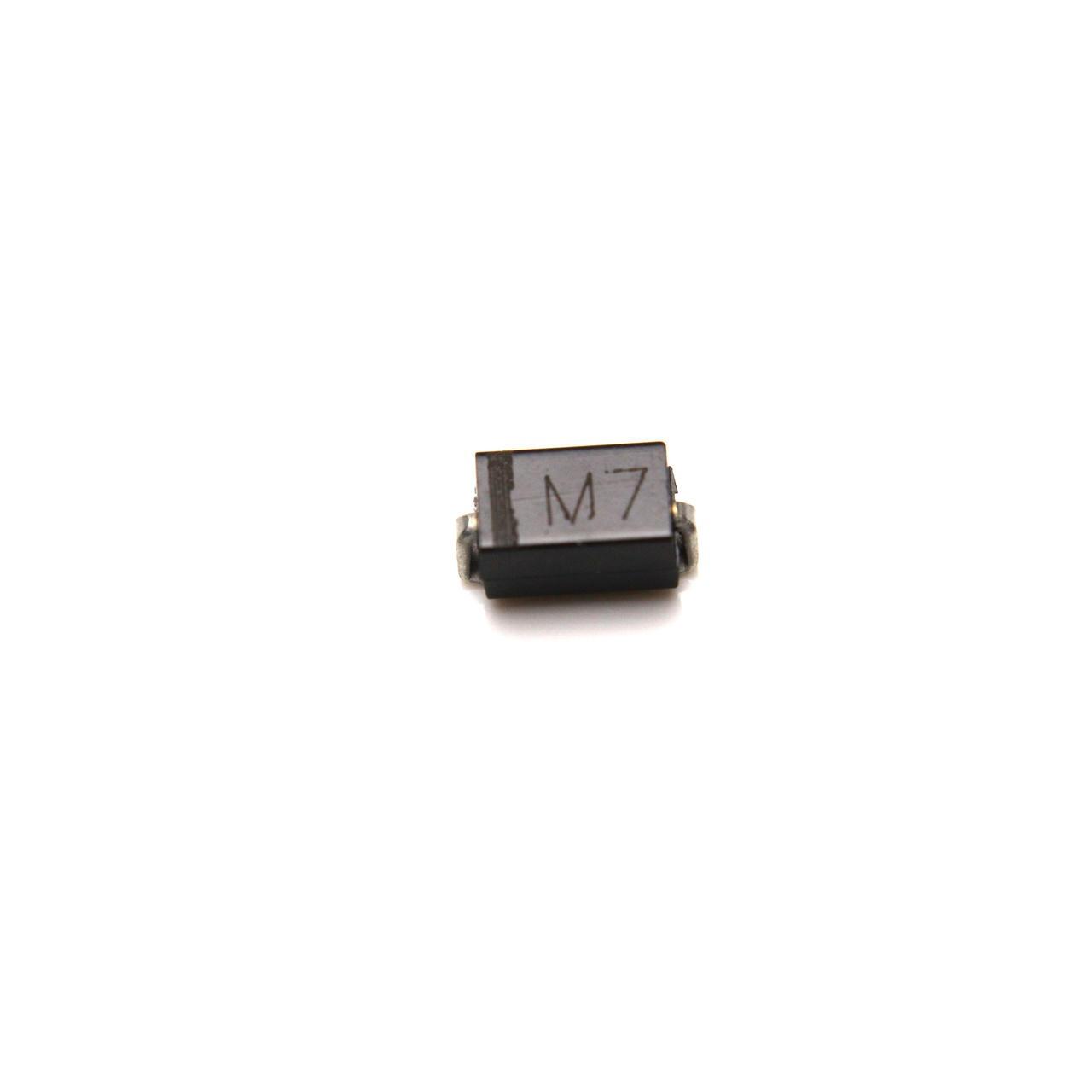 貼片整流二極管 M7  封裝 SMA DO-214AC  IN4007   貼片二極管  揚杰