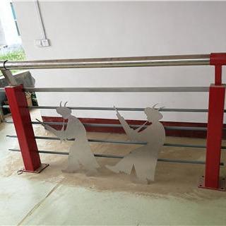 景區不銹鋼復合管護欄圍欄廠家直銷 定做各種規格材質的橋梁防撞護欄 橋梁護欄立柱
