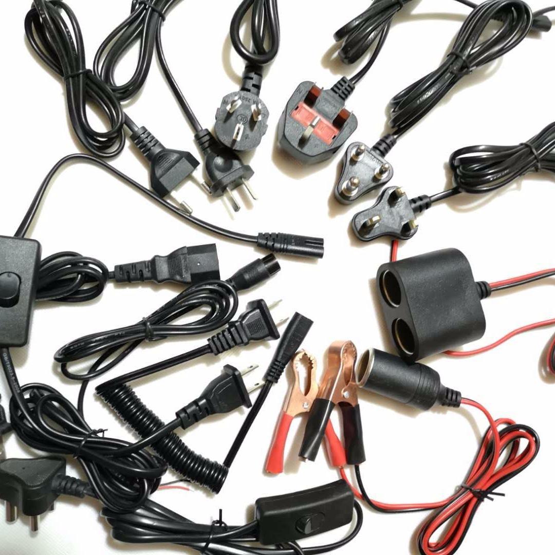 厂家两插充电器国标AC电源线电吹风电风扇国标两芯AC电源适配线