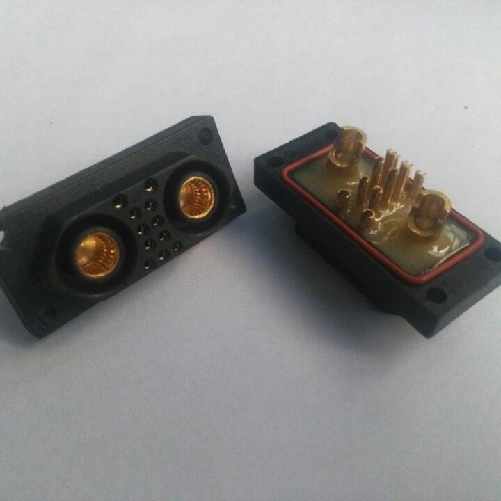 大電流連接器廠家報價 東普電子  表面鍍金采用冠簧插孔 可承受90A 以上電流