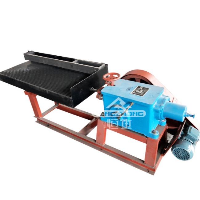 实验室LY摇床 小槽钢水洗床 选矿小摇床矿物精选设备
