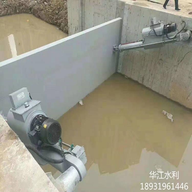 水利鋼制閘門 廠家定制 河道露頂式鋼閘門 華江 平面定輪鋼制閘門