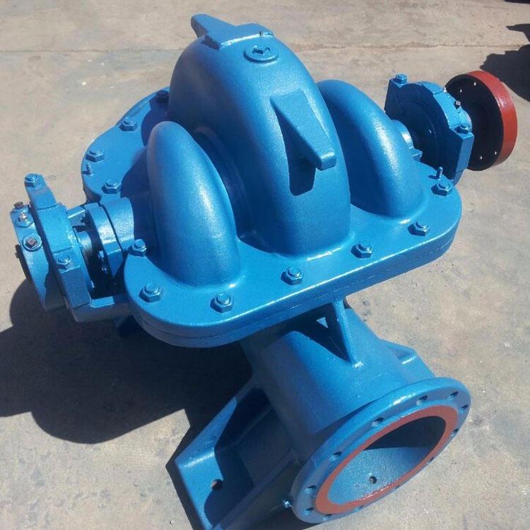 奧泉泵業生產S/SH大流量雙吸泵 不銹鋼離心泵 中開式雙吸增壓泵 空調冷卻水循環泵