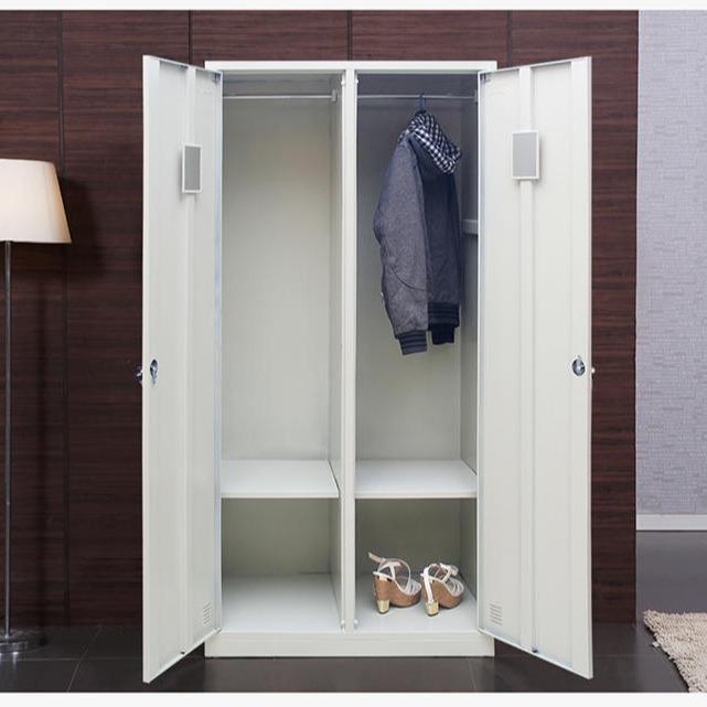 更衣柜員工柜鐵皮衣柜宿舍衣柜工衣柜鋼制儲物存物柜辦公衣柜帶鎖儲物柜
