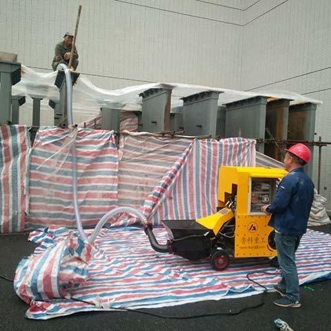 昌運廠家供應 細石砂漿澆筑泵 混凝土輸送機價格 砂漿水泥輸送機  歡迎咨詢