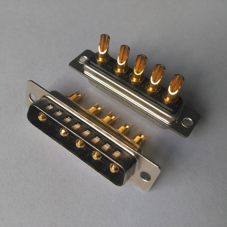 電源連接器生產廠家 東普電子  大電流混裝連接器  表面鍍金  可承受電流  40A