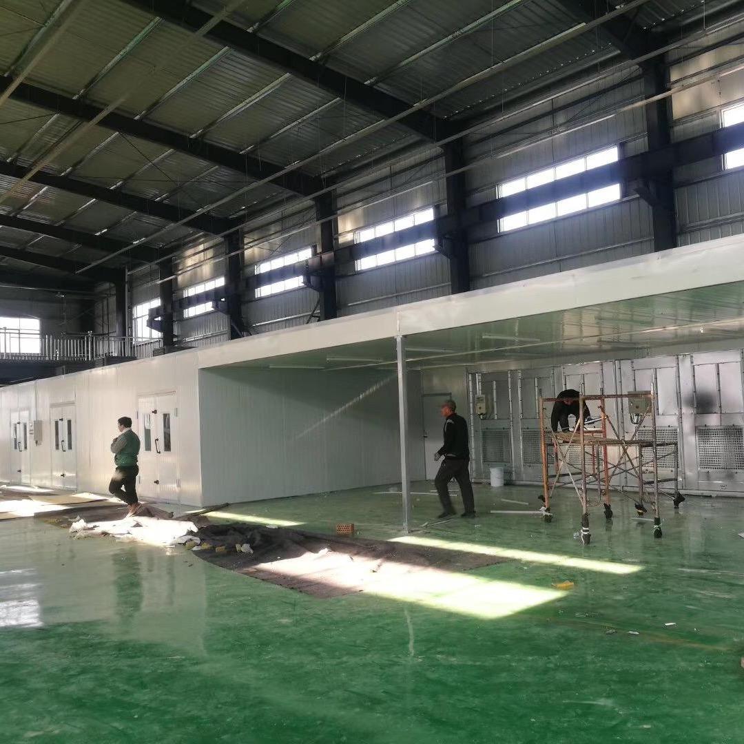 中通环保生产供应定制 家具喷漆房 家具房及环保设备  滤芯打磨柜