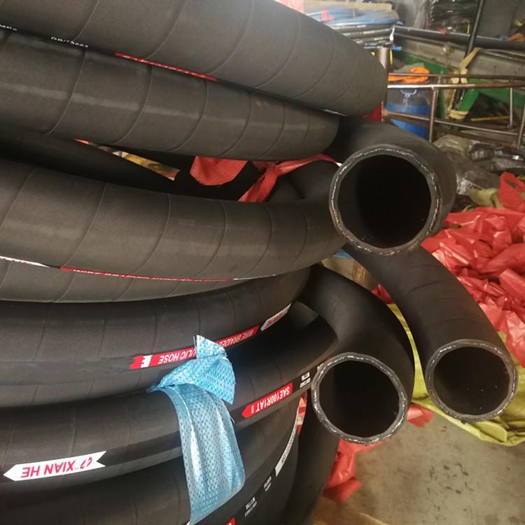 高壓鋼絲編織膠管 高壓鋼絲纏繞膠管洲新橡塑規格齊全