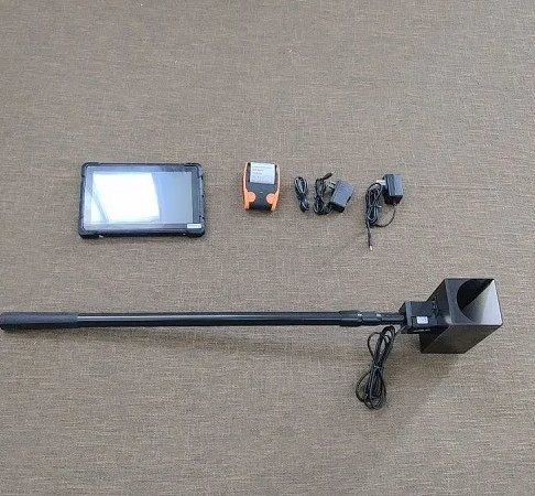 路博 LB-7101 便携式林格曼黑度仪(黑烟识别器)/厂家直供/车尾/检测示例图3