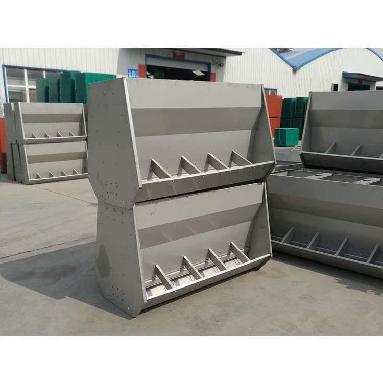 5孔不銹鋼料槽 豬用不銹鋼料槽 量身定制 吉星農牧 質量保證