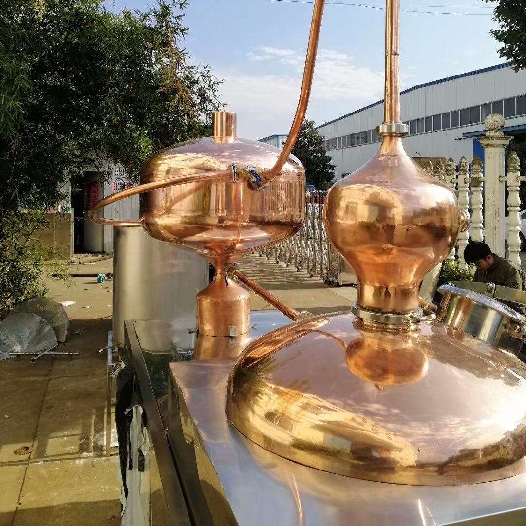 德酿 夏朗德酿酒设备 紫铜酿酒机  白兰地蒸馏