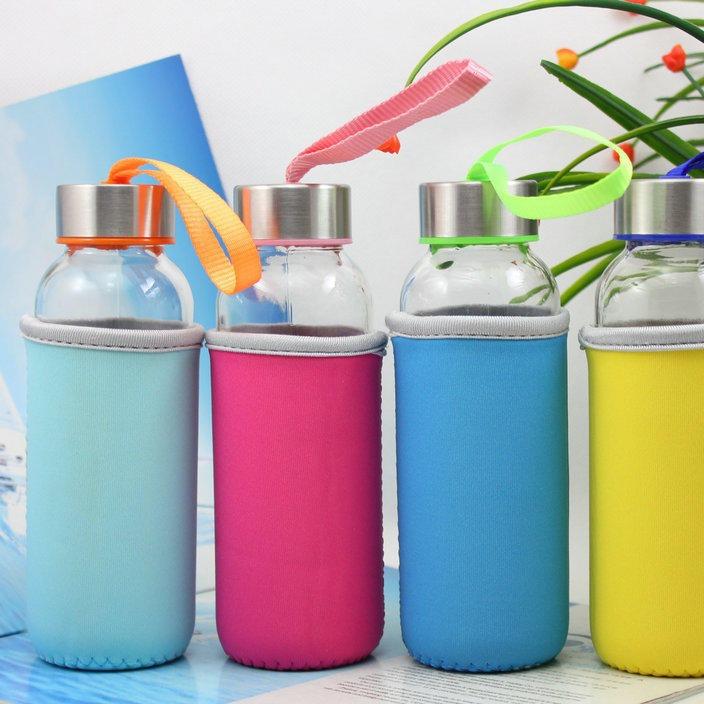批發單層玻璃杯卡通杯子水杯廣告杯定制禮品杯定做促銷杯印字百貨