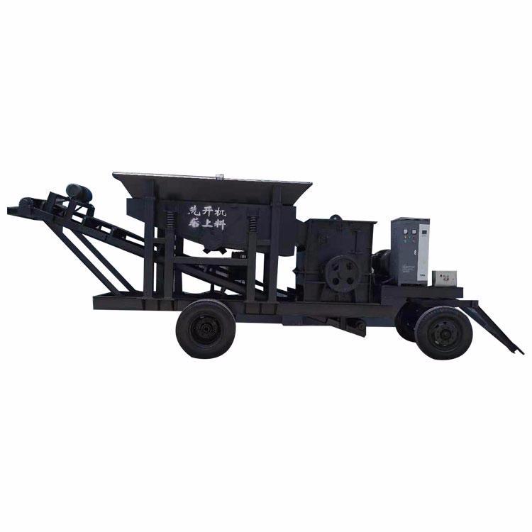輪胎式移動破碎機 爐渣破碎機 移動破碎機 錘式破碎機 工作可靠