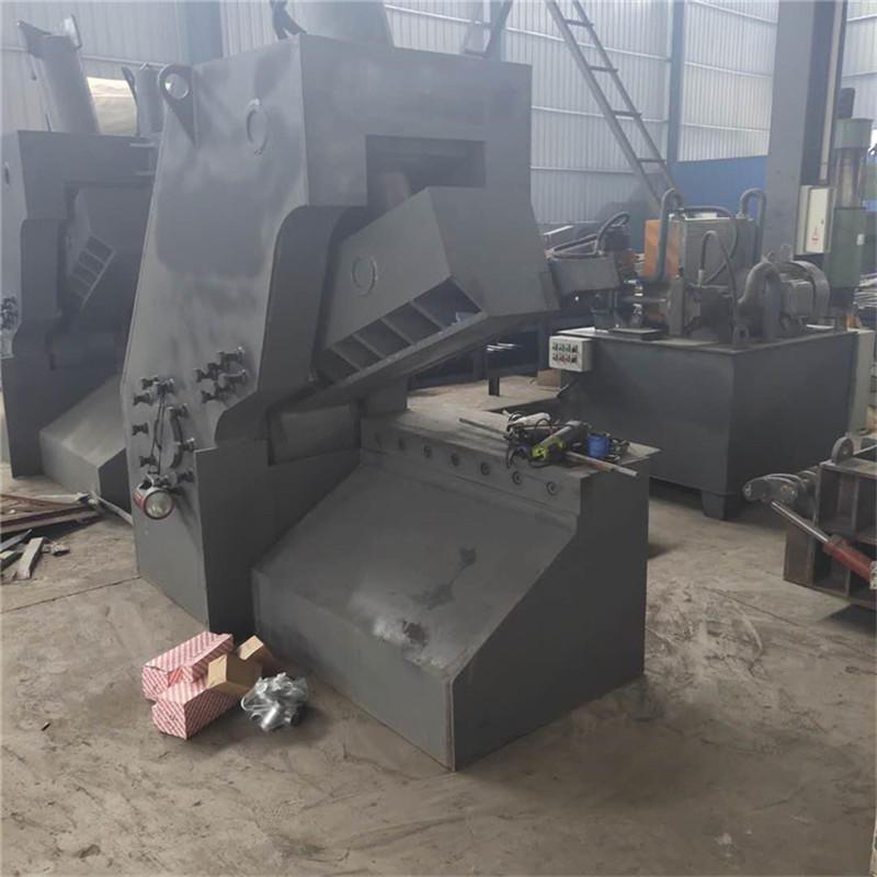 厂家直销金属废铁自动剪切机 虎头剪切机 废钢液压虎头剪 全自动链板虎头剪切设备