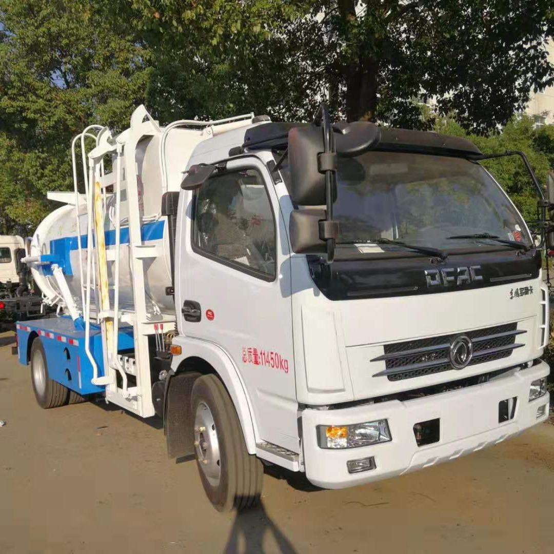 东风5方餐厨垃圾车价格 厨余垃圾运输车 餐厨垃圾回收车