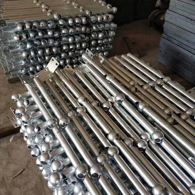 廠家熱鍍鋅球接欄桿 橋梁低碳鋼球形 立柱欄桿 樓梯扶手