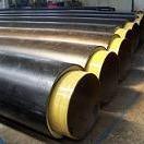 预制聚氨酯保温管  预制直埋聚氨酯保温钢管  聚氨酯保温管