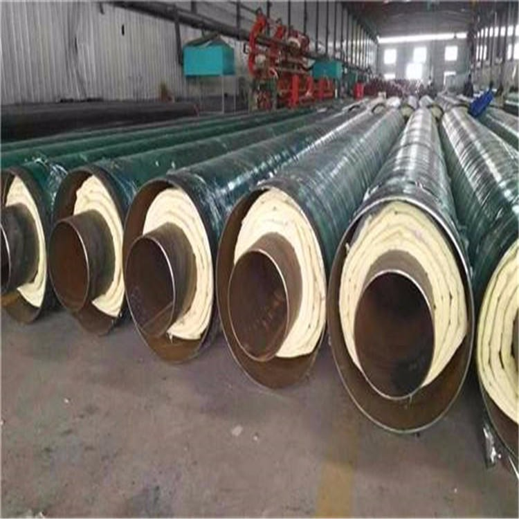 龙都管道供应 钢套钢蒸汽保温管 供暖专用聚氨酯保温钢管 钢套钢蒸汽保温管