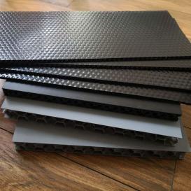 订做泉润来中空板 PP蜂窝板 蜂窝板周转箱 钙塑板 米字板围板箱