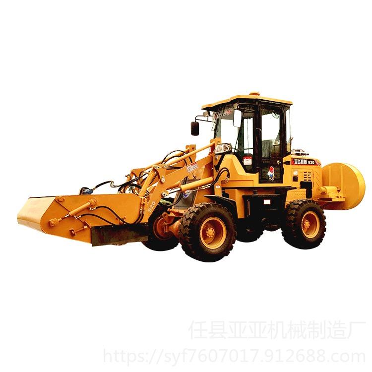 山貓掃地機 山貓清掃機 河北亞亞機械裝載機清掃車產品特點