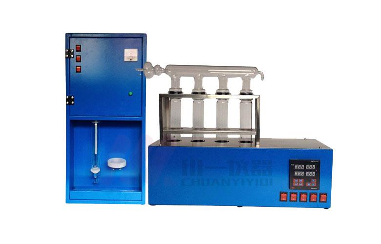 定氮蒸馏装置 CYKDN-DS全自动凯氏定氮仪 凯氏定氮法 微量定氮蒸馏器 川一仪器示例图4