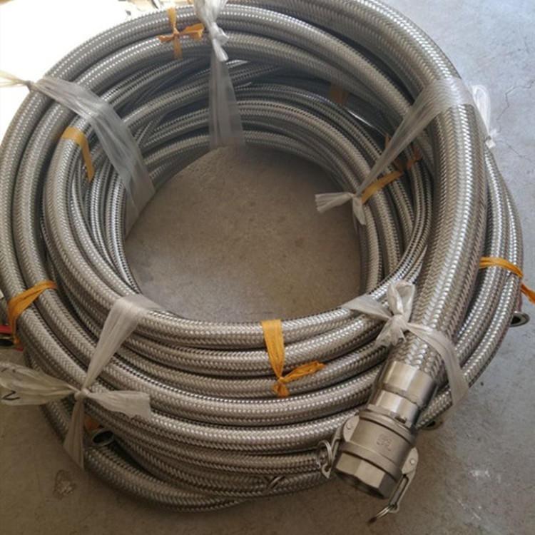 洲新橡塑管業 快速接頭金屬軟管 法蘭式金屬軟管加工定做 DN15-DN60