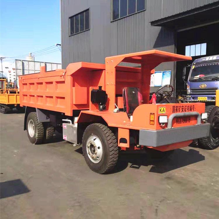 矿用四驱翻斗自卸车大型矿用四驱强劲动力运输车的工作细节