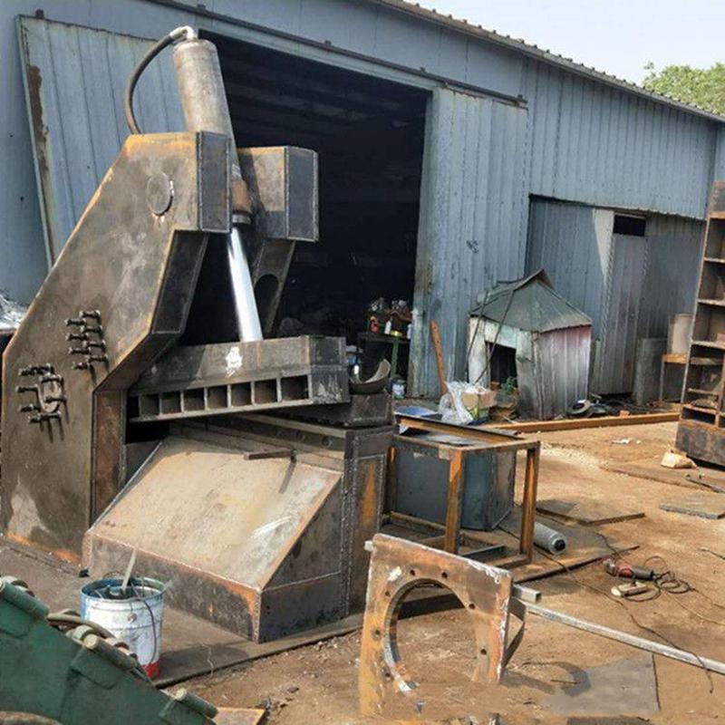全自動鋁合金鋼管剪切機 信航450噸全自動鋁合金鋼管剪切機 耗能低