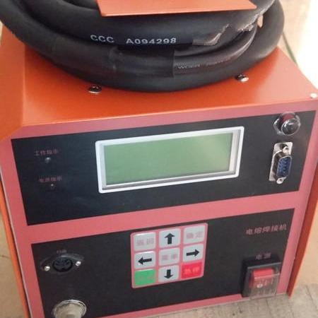 300全自动电熔焊机 焊接PE管件315电熔焊机 pe全自动电熔套筒焊机