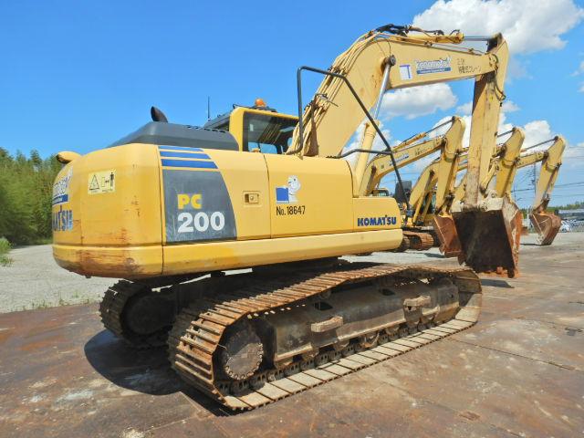小松PC200-8N1原装进口二手挖掘机价格 二手大型挖掘机出售示例图5