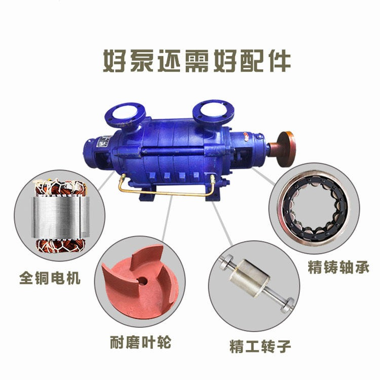 田加正 2.5GC 多級離心泵  農田灌溉給水泵配件,葉輪,中斷,回水管