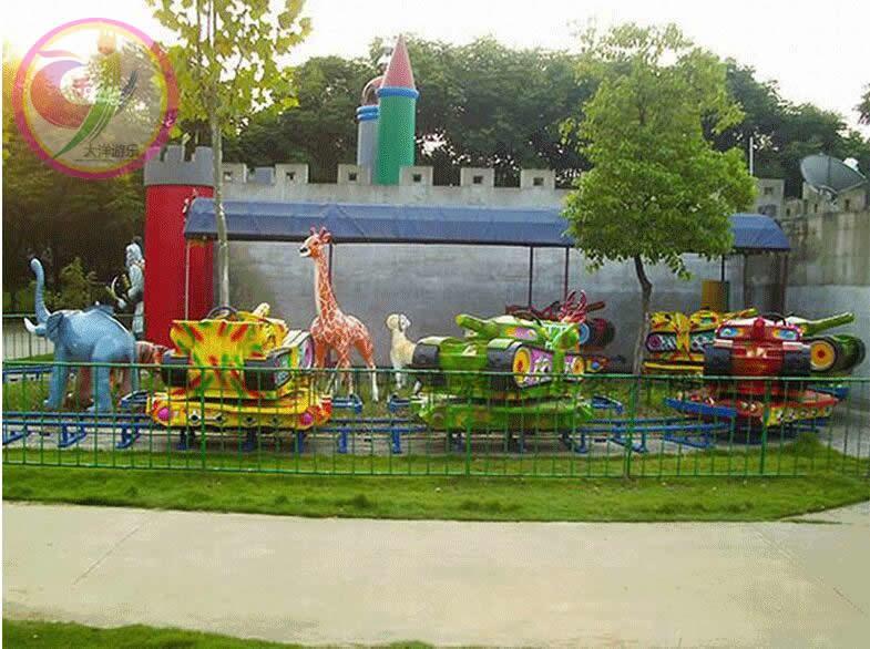 轨道追击儿童游乐设备 郑州大洋追击轨道游乐设施示例图3