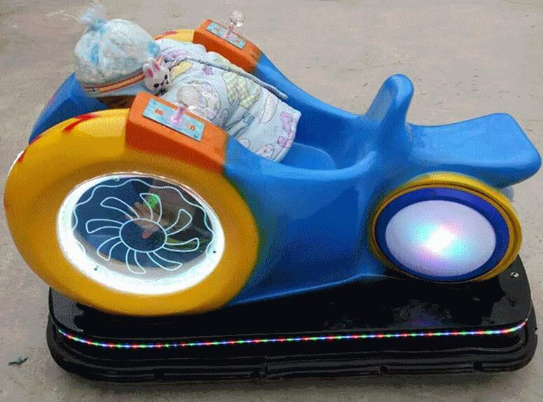 新赚钱神器儿童广场游乐风火轮蜗牛车 大洋现货蜗牛车游乐设备示例图2
