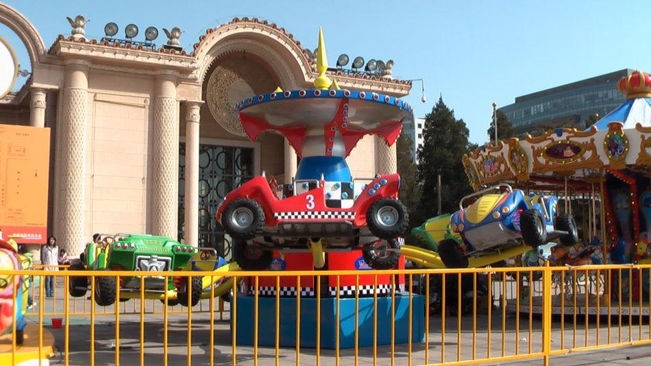 儿童游乐设备新款弹跳狂车飞舞 公园6臂旋转狂车飞舞大洋报价示例图5