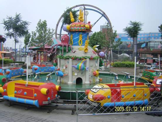 新型欢乐岛儿童游乐设备 郑州大洋专业生产公园欢乐岛厂家示例图4