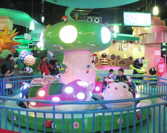 郑州大洋专业定制小型游乐瓢虫乐园 公园游乐设备新款瓢虫乐园示例图2