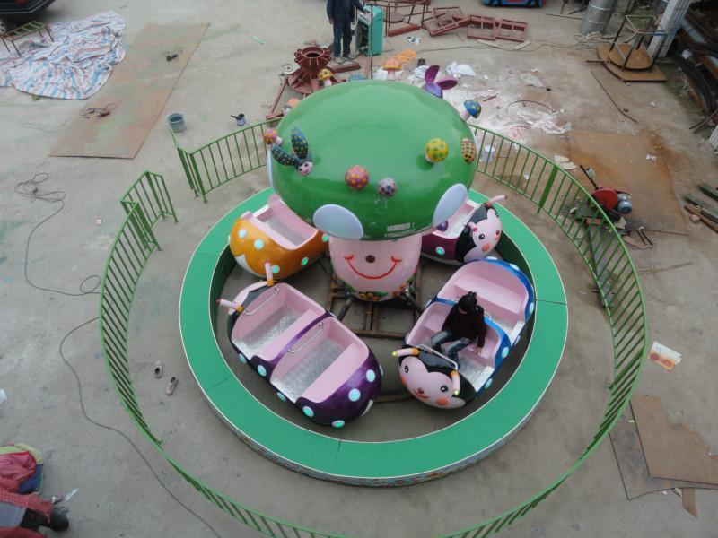 郑州大洋专业定制小型游乐瓢虫乐园 公园游乐设备新款瓢虫乐园示例图5