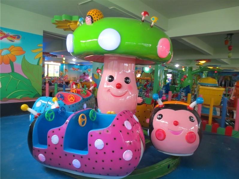 2020供应小型游乐设备儿童豪华瓢虫乐园 专业打造炫酷灯光瓢虫乐园示例图7