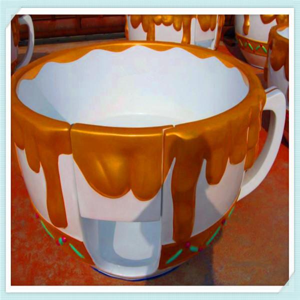 中小型游乐设备旋转咖啡杯 亲子互动9杯转转杯咖啡杯大洋供应商示例图12