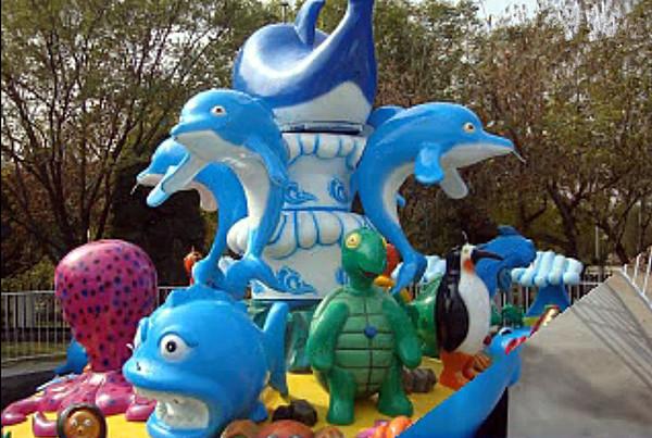 厂家直销新款游乐6臂24座欢乐海洋_亲子互动儿童游乐欢乐海洋岛示例图18