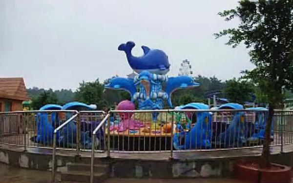 欢乐海洋儿童游乐设备 厂家直销全新玻璃钢装饰8臂欢乐海洋岛示例图11