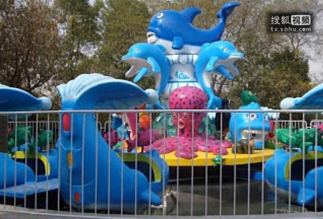 厂家直销新款游乐6臂24座欢乐海洋_亲子互动儿童游乐欢乐海洋岛示例图16