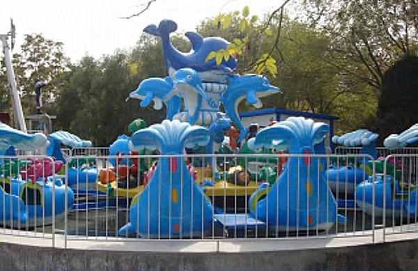 欢乐海洋儿童游乐设备 厂家直销全新玻璃钢装饰8臂欢乐海洋岛示例图9