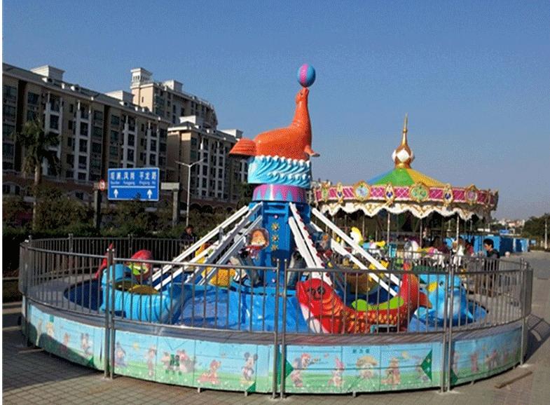 2020年6臂8臂海豚戏水_ 水上海豚戏水项目_郑州大洋旋转升降海豚戏水示例图13