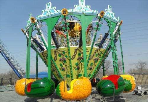 2020型儿童游乐设备16座超级秋千 刺激好玩大洋超级秋千项目游艺设施厂家示例图9