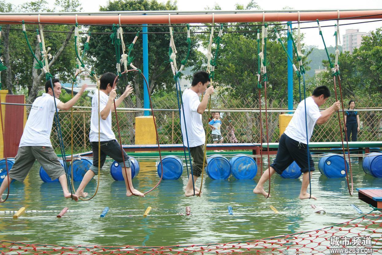 大洋大型游乐场儿童乐园设备体能乐园_专业定制儿童户外体能乐园训练游乐设备示例图5